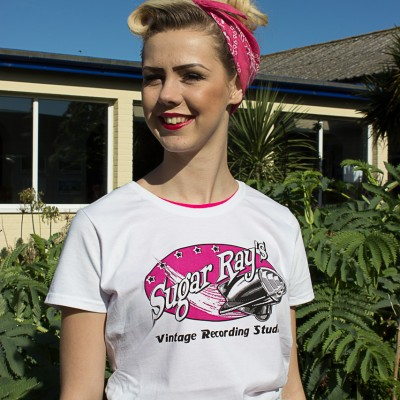 SR-T-Shirt Girls-Pink-2